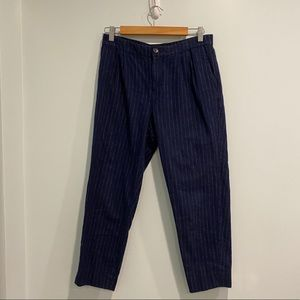 Madewell Striped Trouser Pants
